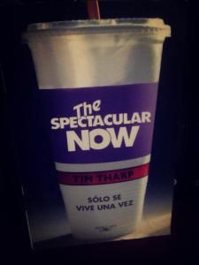 Libro: The spectacular now  Autor: Tim Tharp Género: Adulto joven. Número de páginas: 450 Editorial: Alfaguara  Precio: $250.00 Conseguido en: Libreria Gonvill